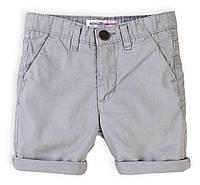 Детские шорты для мальчика серые 3-6 лет, 98/116 см