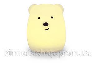 """Детский ночник-игрушка Click """"Hічні звірятка"""" Медведь 11 см"""