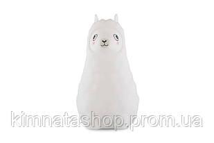 """Детский ночник-игрушка Click """"Hічні звірятка"""" Альпака 14 см"""