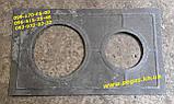 Плита пічна чавунна з кільцями барбекю, печі, мангал, фото 3