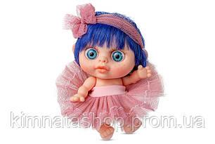 Лялька пупс Berjuan БЕБІ БИГГЕРС з запахом ванілі 14 см (AZUL)