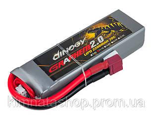 Акумулятор Dinogy G2.0 Li-Pol 2200mAh 11.1 V 3S 70C 24х35х110мм T-Plug