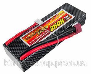 Акумулятор Dinogy Li-Pol 3600mAh 11.1 V 3S 30C Hardcase 25х46х138мм T-Plug