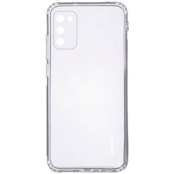 TPU чехол GETMAN Clear 1,0 mm для Samsung Galaxy A02s