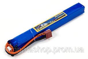 Акумулятор для страйкболу Giant Power (Dinogy) Li-Pol 11.1 V 3S 1500mAh 25C 20х19х167мм T-Plug