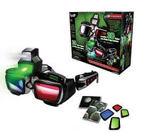 3D кибер-очки ночного видения HT с радио и подслушивающим устройством