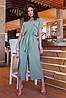 Легкий стильний літній комбінезон з широкими брюками кюлотами, батал великі розміри, фото 9