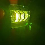 Фара діодна 45W з СТГ білий і жовтий світло., фото 3