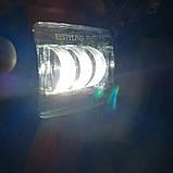 Фара діодна 45W з СТГ білий і жовтий світло., фото 4