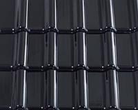Черепиця керамическая Creaton Titania Finesse сланцевая глазурь