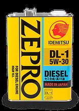 Масло моторное IDEMITSU ZEPRO DIESEL DL-1 SAE 5W-30 (4 литра, металл)