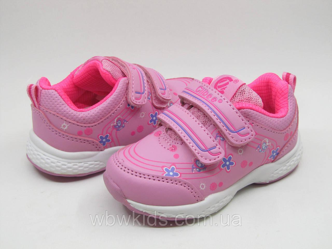 Кроссовки детские Clibee F-708 pink для девочки
