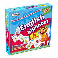 """Развивающая игра-пазлы """"Английский алфавит"""" Strateg"""