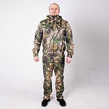 Камуфляжный костюм для охоты и рыбалки летний КМ-3 Светлый клен
