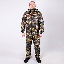 Камуфляжний костюм для полювання та риболовлі річний КМ-3 Темний Клен