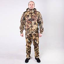 Камуфляжний костюм для полювання та риболовлі річний КМ-3 Осінній клен