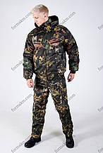 Камуфляжний костюм зимовий Темний клен