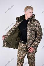 Бушлат ЗСУ Зимовий Військовий Патріот Піксель, фото 3