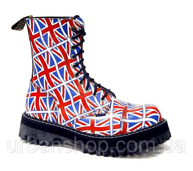Черевики STEEL 105/106/0 FLUS Черевики 10 дир. Британия (шкіра, сталевий носок, черевики, шкіра)