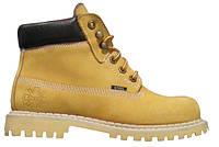 Ботинки STEEL 052/38/O-YEL 6 дыр. жёлтые (кожа, зимняя обувь, черевики, зима)
