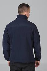 Кофта флисовая синяя ДСНС, фото 2