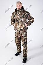 Костюм Камуфляжний Зимовий з Комбінезоном для Полювання та Риболовлі РЗ-2 Осінній Клен