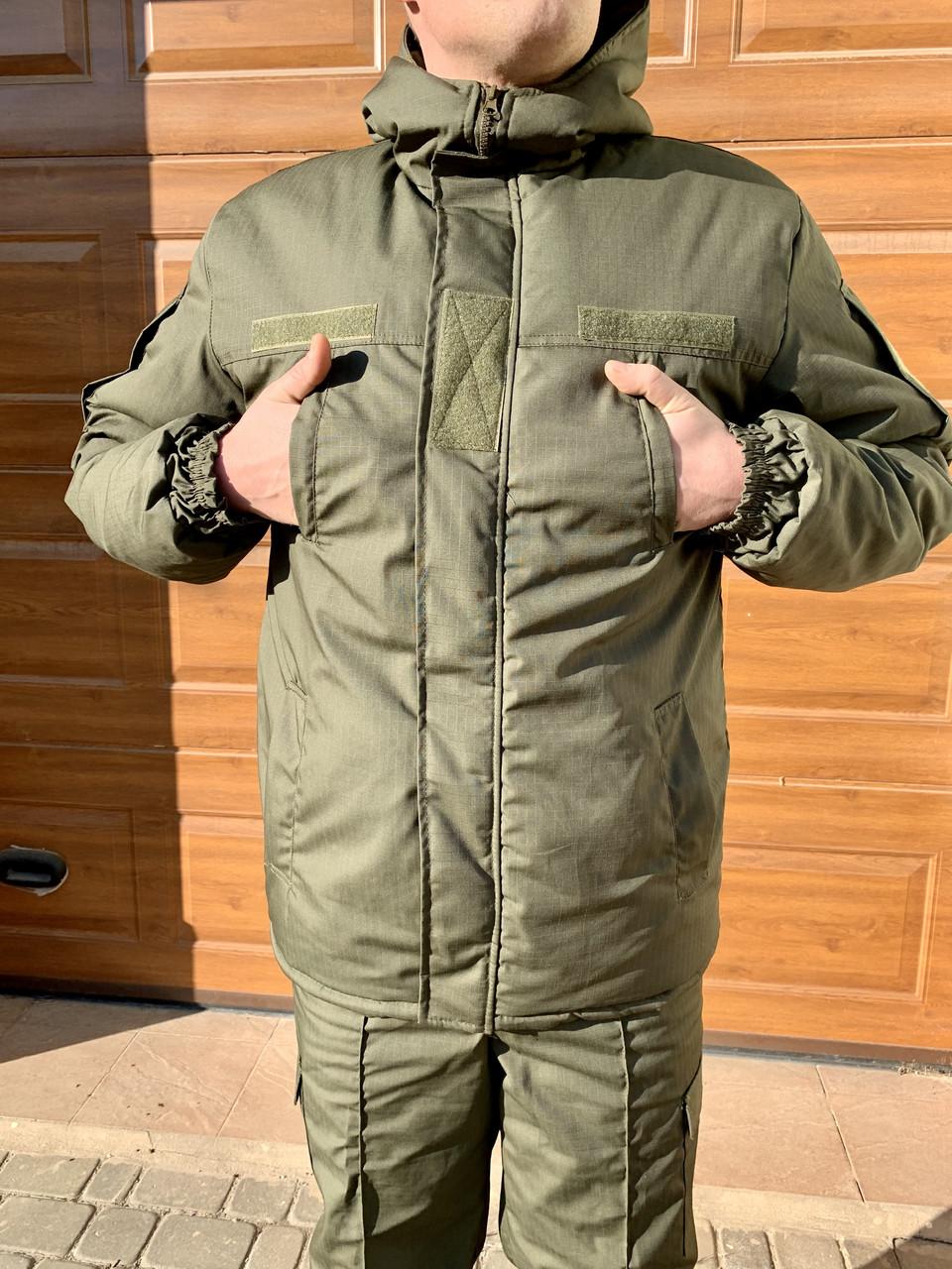 Бушлат куртка Камуфляжный Зимний НГУ олива