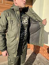 Бушлат куртка Камуфляжный Зимний НГУ олива, фото 2