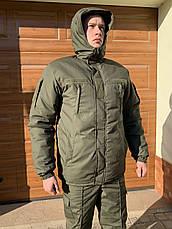 Бушлат куртка Камуфляжный Зимний НГУ олива, фото 3