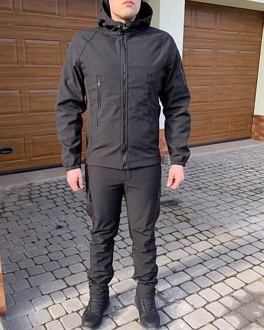 Тактична Костюм! Куртка + Штани Soft Shell хакі непромокальний!, фото 2