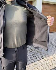 Тактична Костюм! Куртка + Штани Soft Shell хакі непромокальний!, фото 3