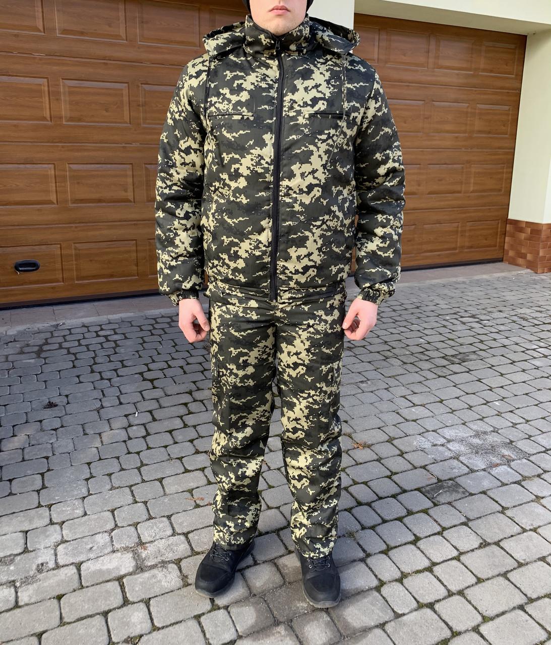 Костюм Камуфляжный Зимний Пограничник