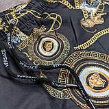 Чоловічі пляжні шорти Versace CK1956 чорні, фото 3