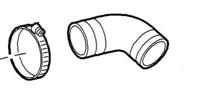 Патрубок турбина-интеркулер Doblo 1.9JTD