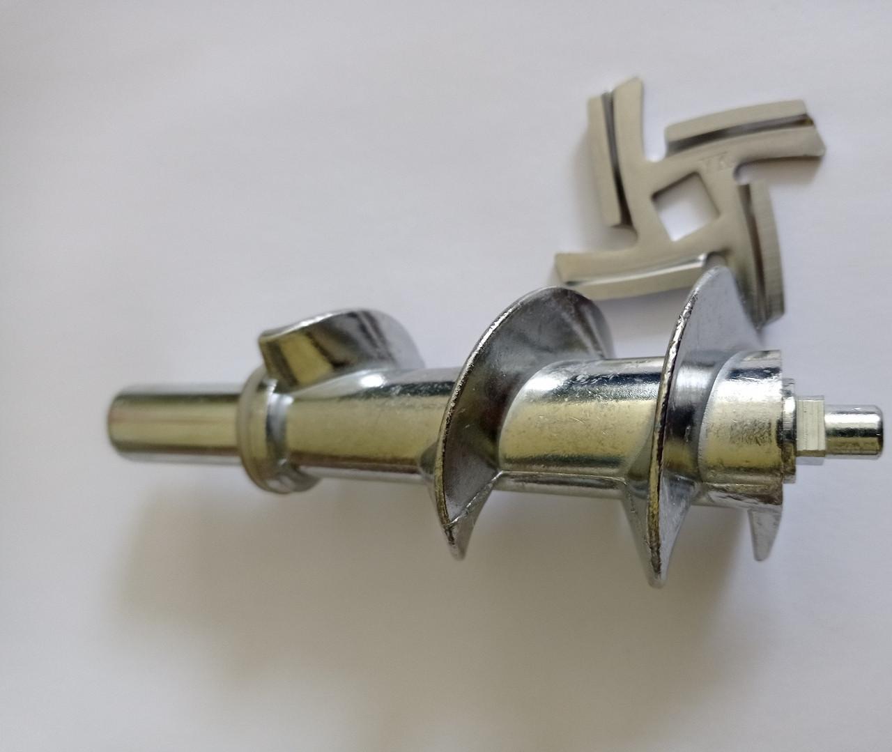 Шнек і ніж для м'ясорубки (Грюнхельм) GRUNHELM AMG-220 SB