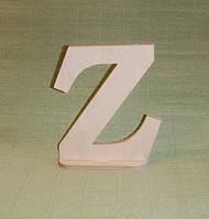 Буква Z  (на подставке) заготовка для декора
