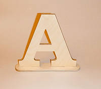 Буква A (на подставке) заготовка для декора