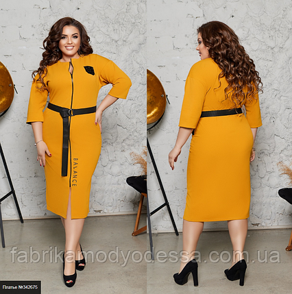 Женское платье большой размер Украина Размеры: 48-50, 52-54, 56-58, фото 2