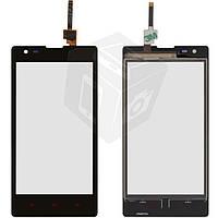 Touchscreen (сенсорный экран) для Xiaomi Red Rice 1S, черный, оригинал