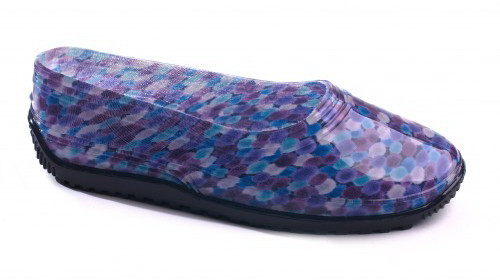 Резиновые галоши садовые женские ПВХ Фиолетовые   Размер 36-42  
