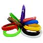 Акумуляторна 3D ручка Wm - 9903 для дітей з трафаретами і пластиком для малювання 3Д Pen дельфін синій, фото 2