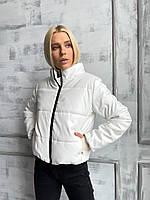 Куртка женская объемная из эко кожи, фото 1