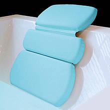 Ортопедична подушка для ванної The Original GORILLA GRIP (TM), Luxury 3-Panel на потужних присосках.
