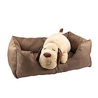 Велика лежанка / лежак для собак і котів (78х56 см)