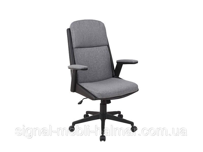 Крісло комп'ютерне Q-333 сірий/чорний(Signal)