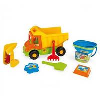 Игрушечный грузовик Multi Truck + набор для песка IML