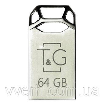 Флеш-драйв USB Flash Drive T&G 110 Metal Series 64GB