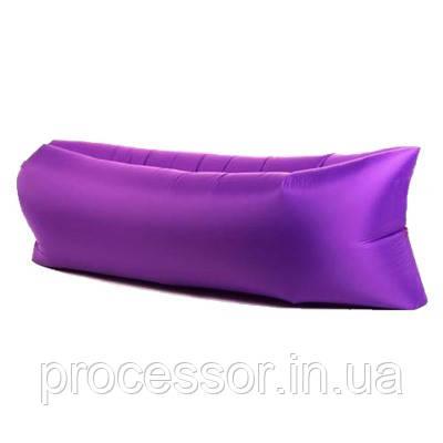 LAMZAC Purple (Ламзак) Фіолетовий - надувний матрац, гамак, крісло, диван. Краща Якість На Україні!