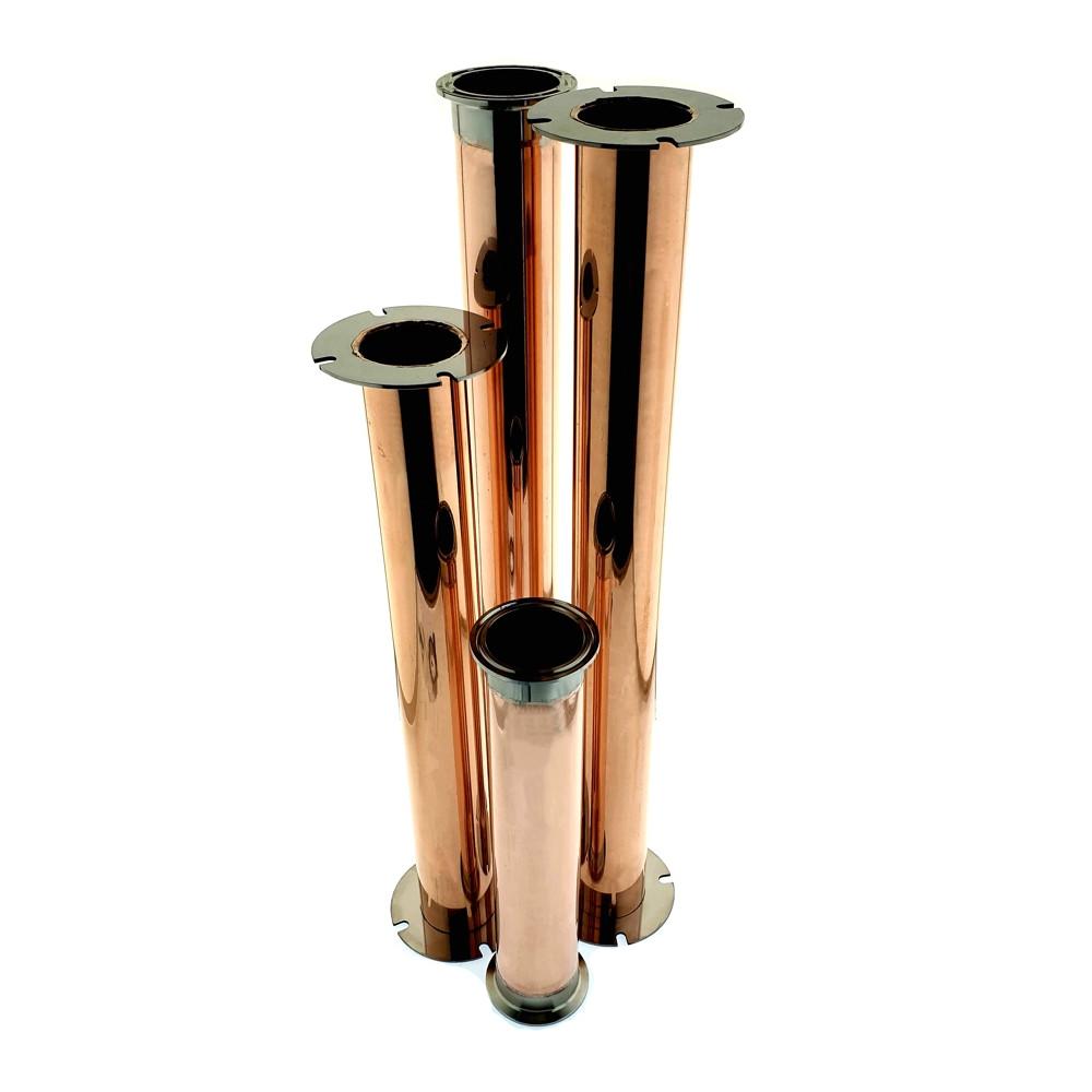 Медная царга фланец 2 дюйма под заказ 200-1000 мм.
