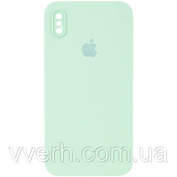 """Чохол Silicone Case Square Full Camera Protective (AA) для Apple iPhone XS Max (6.5"""")"""